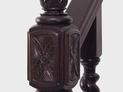 Colonial Newel Carved CNC
