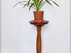 Solid Wood Solo Flower Stand